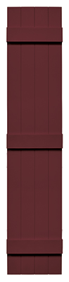 Mid America Board-N-Batten Shutter Wineberry