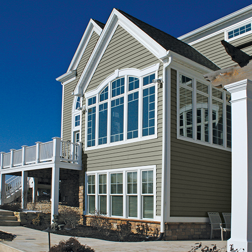 ProVia Insulated CedarMAX Siding