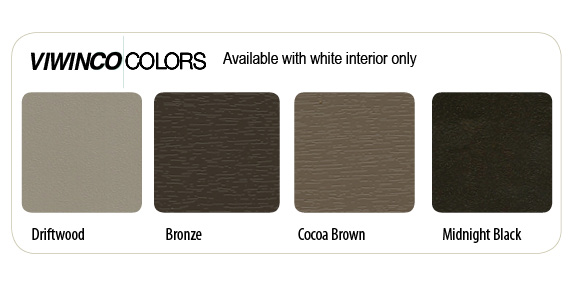 Viwinco Exterior Colors